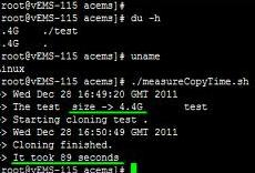 cp omitting directory centos