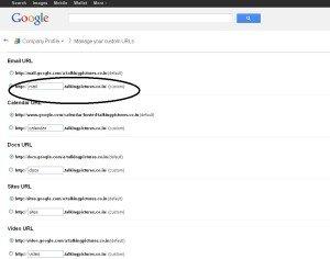 Google Apps Configuration012