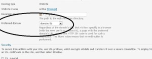 How To Enable WWW redirection For Domain In Plesk windows