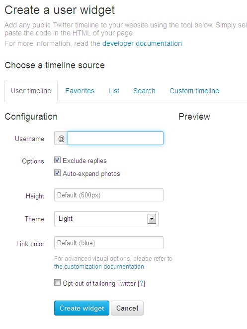 How To Add Twitter Account In Blogger04