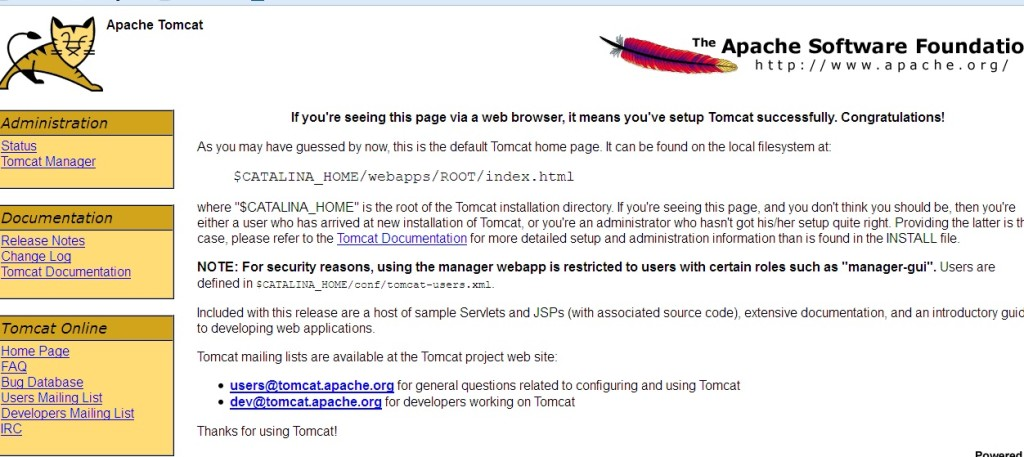 How To Install And Configure Tomcat In Windows02