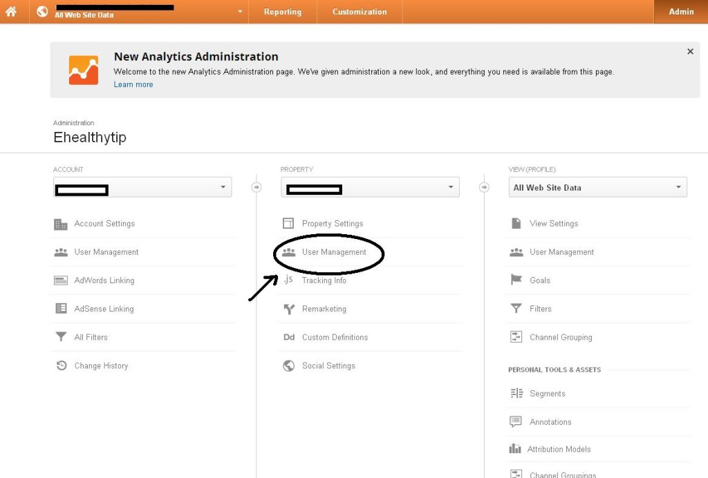 How To Share Google Analytics To Other Account01