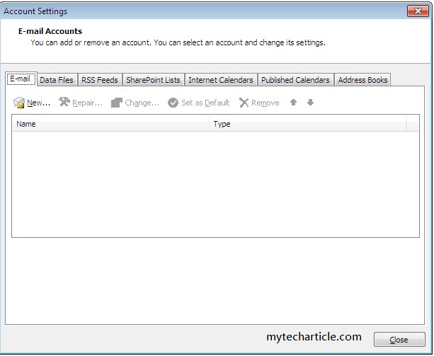 How To configure Hotmail Account In Outlook