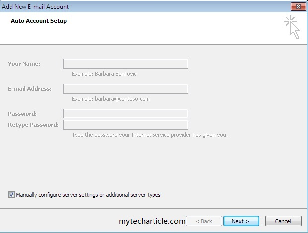How To configure Hotmail Account In Outlook01