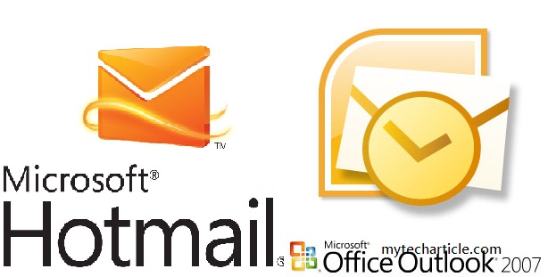 hotmail configuration in outlook2007