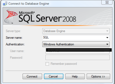 Error 945 Database cannot be opened due to inaccessible