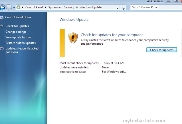 How To Remove Windows Update