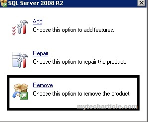 How To Add Or Remove SQL Server instances01