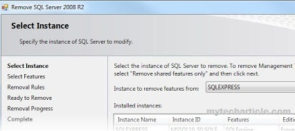 How To Add Or Remove SQL Server instances02