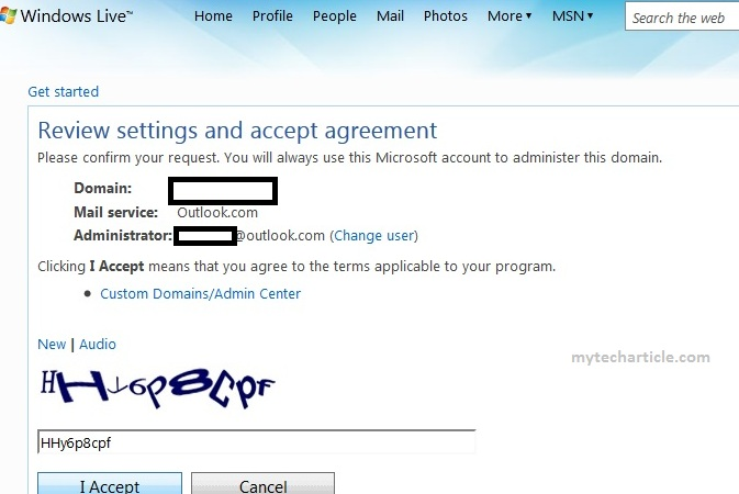 How To Configure windows Live Mail For Domain03