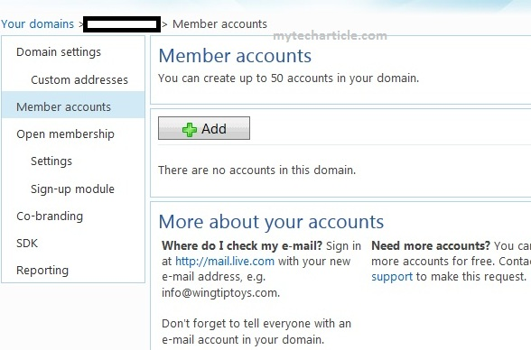 How To Configure windows Live Mail For Domain05