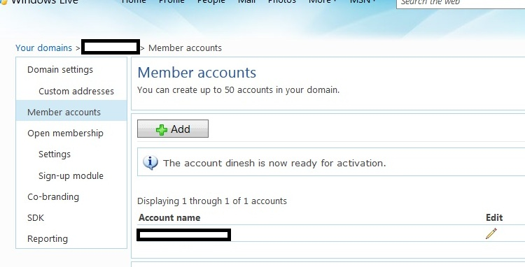 How To Configure windows Live Mail For Domain06