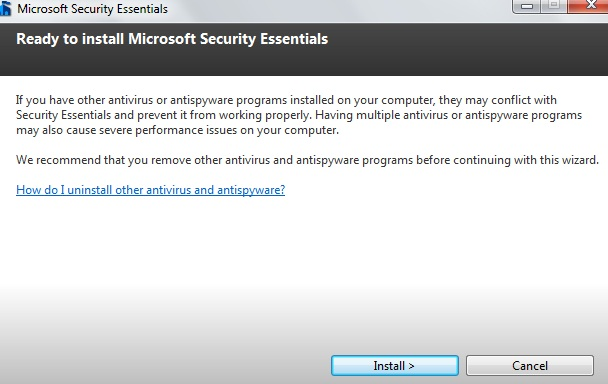 How To Install Microsoft Security Essentials04