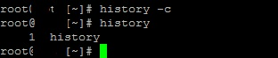How To Clear Commands History  From Terminal In Linux01