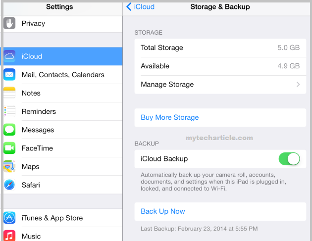 How To Manage Iphone and Ipad Backups Online01