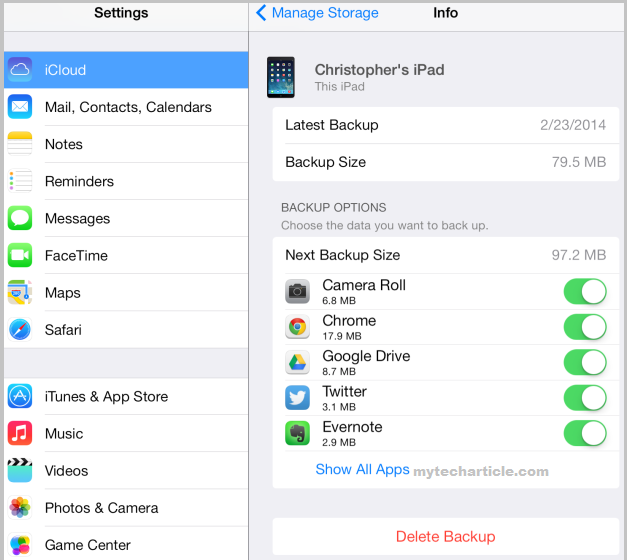 How To Manage Iphone and Ipad Backups Online02