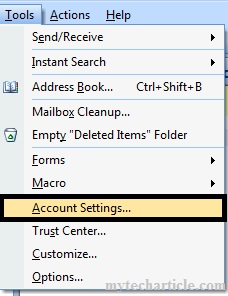 How To Configure Google Apps In Outlook 2007