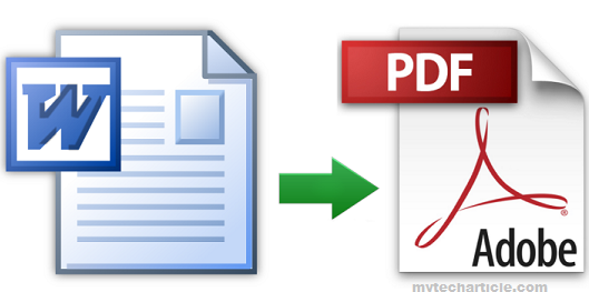How To Save Microsoft Word In PDF Format02