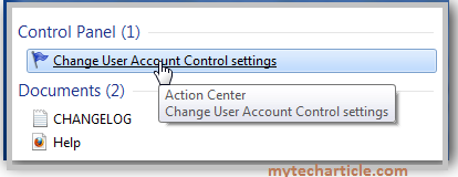 How To Disable User Account Control(UAC) In Windows 7,8-01
