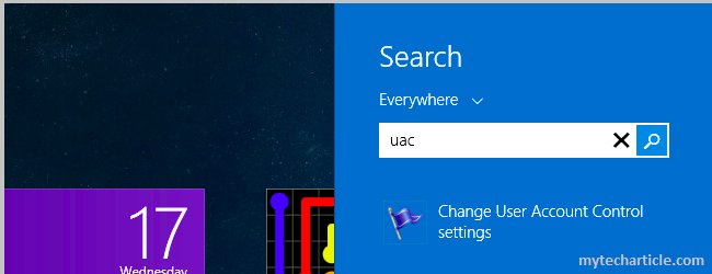 How To Disable User Account Control(UAC) In Windows 7,8-03
