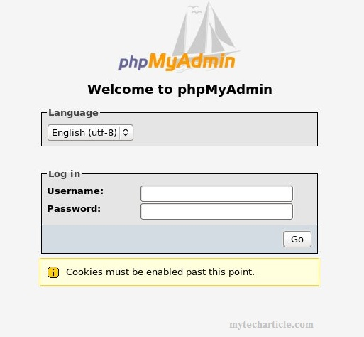 How To Reset phpMyAdmin In Centos