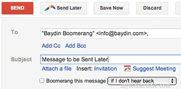 How To Schedule Mail In Gmail To Sent Later