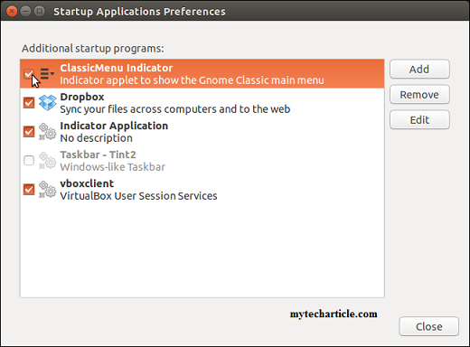 Simple Steps To Manage Startup Application In Ubuntu 01