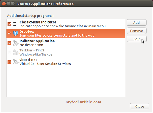 Simple Steps To Manage Startup Application In Ubuntu 02