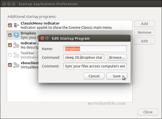 Simple Steps To Manage Startup Application In Ubuntu 03