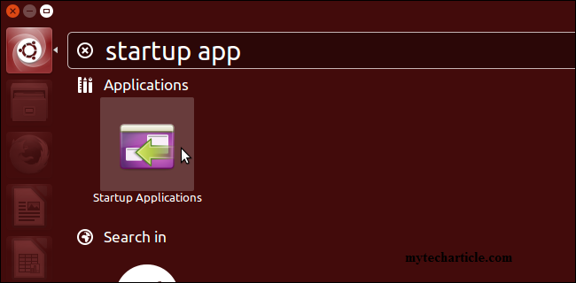 Simple Steps To Manage Startup Application In Ubuntu
