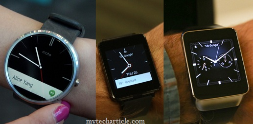 Android Wear Own Google Smartwatch Including Third-Party Apps