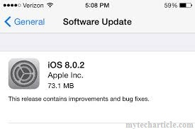 Apple Apologizes On Bug And Released iOS 8.0.2