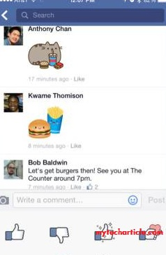 Facebook Offers Free Stickers For Comments on Timeline Posts