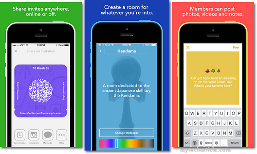 Facebook Released New Chat App 'Rooms'01