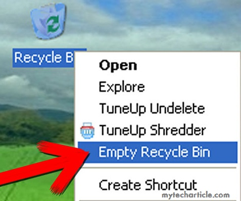How To Empty Recycle bin From Command Prompt01