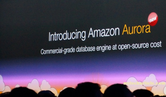 Amazon Launched High-Performance Database Service Aurora01