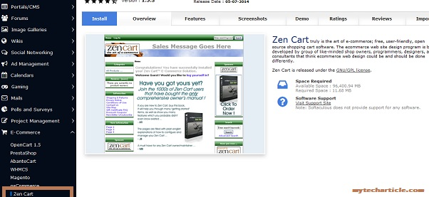 How To Install ZenCart In Cpanel Server