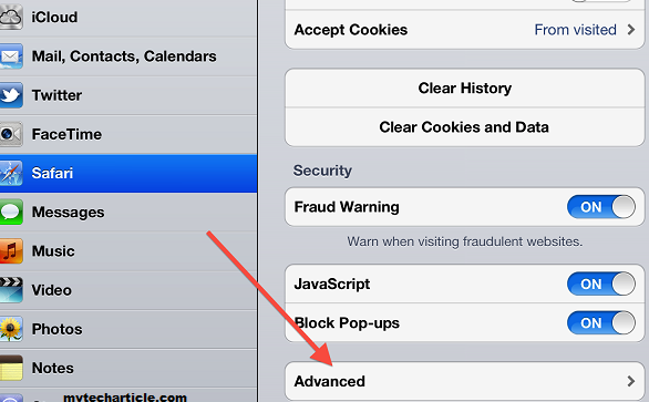 How To Clear Single Website Cookies and Cache In iPhone or iPad