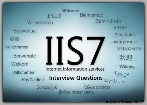 IIS Interview questions post
