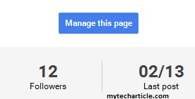 How To Add Managers For Google+ pages