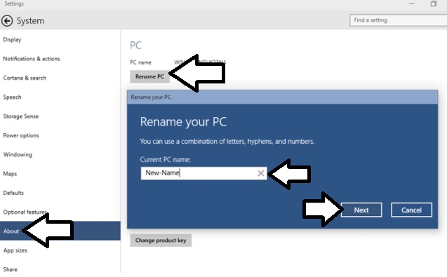 How To Rename PC Name In Windows 10-01