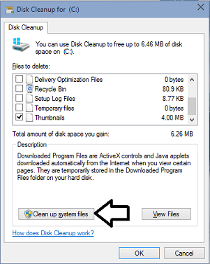 Disk Cleanup In Windows 10-01