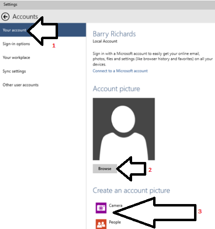 How To Change Account Picture In Windows 10