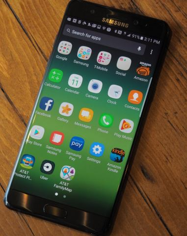 Samsung Galaxy Note 7 Available In Stores Now