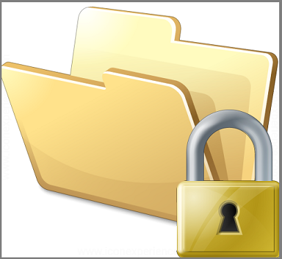 how to create passwords on folders in windows 10